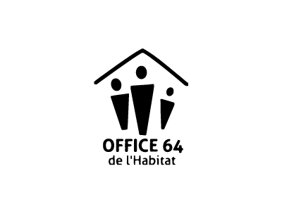 Office 64 de l'Habitat logo