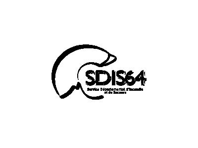 SDIS64 logo