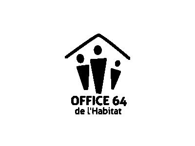 Office 64 de l'Habitat logo